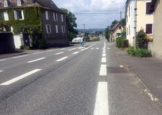 Straight roads 1