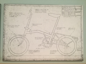 Original patent application for the Brompton folding bicycle