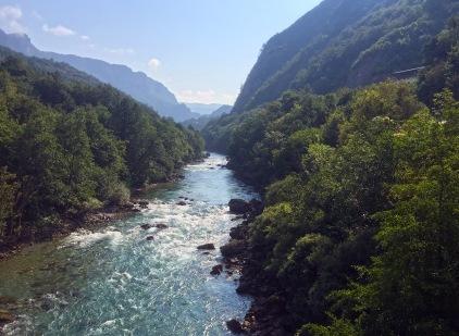 Tara River crossing